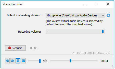Voice changer software - Voice recorder