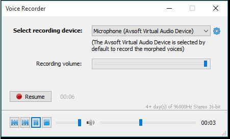 Voice changer software - Voice recorder