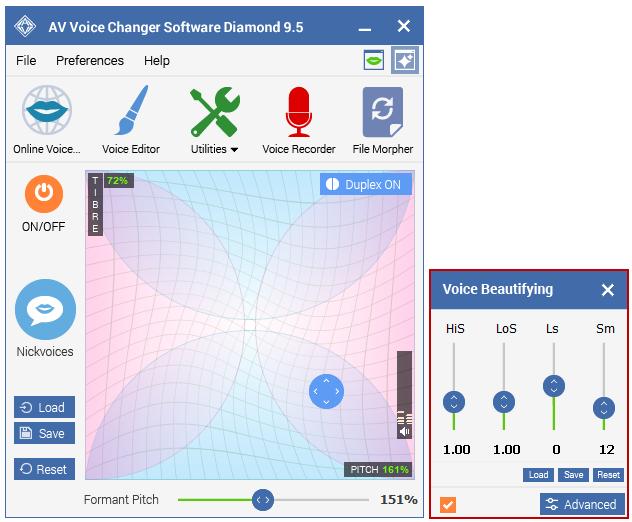 Official] AV Voice Changer Software Diamond - Realtime male, female